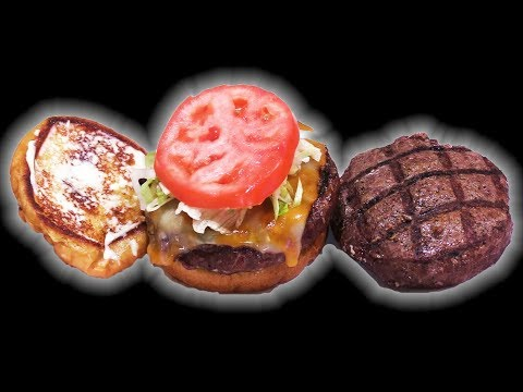 Grilled OSTRICH Cheeseburger -