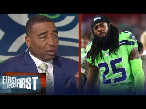Cris Carter unveils what Sherman's departure means for Seattle's Legion of Boom | FIRST THINGS FIRST