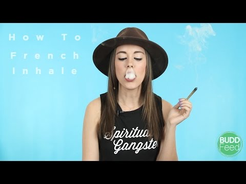 How To French Inhale