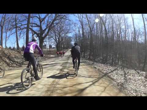 2015 Barry-Roubaix Gravel Race in Hastings, MI. Part 3 More roads & hills