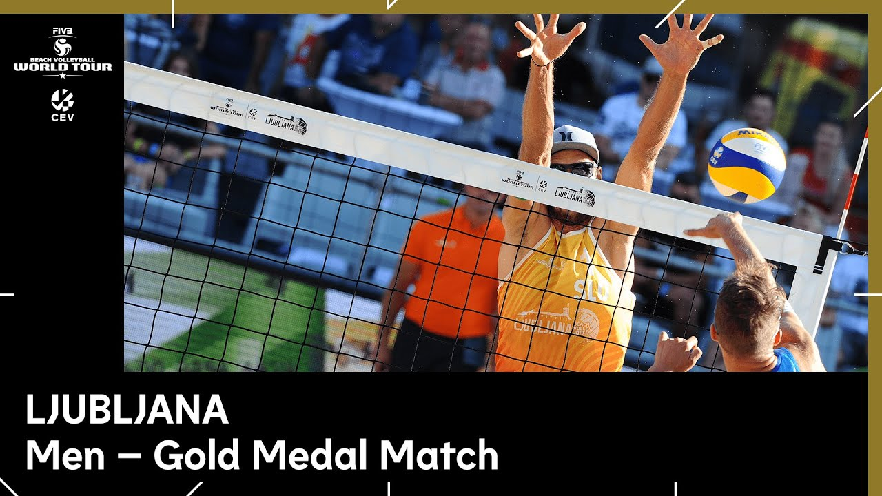 Men Gold Final I Beach Volleyball World Tour 1 Star Ljubljana