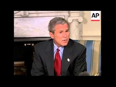 Bush comment before appearing at 9/11 commission