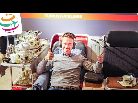 Turkish Airlines Business Class 777-300ER | GlobalTraveler.TV