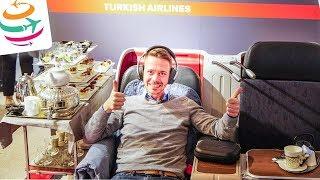 Turkish Airlines Business Class 777-300ER | GlobalTraveler.TV