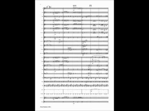 Winter Wonderland Christmas printed sheet music for Concert Band