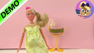 PREGNANT PRINCESS | Doll with baby in belly | Royal Steffi Love with small baby