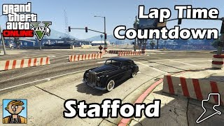Fastest Sedans (Stafford) - GTA 5 Best Fully Upgraded Cars Lap Time Countdown