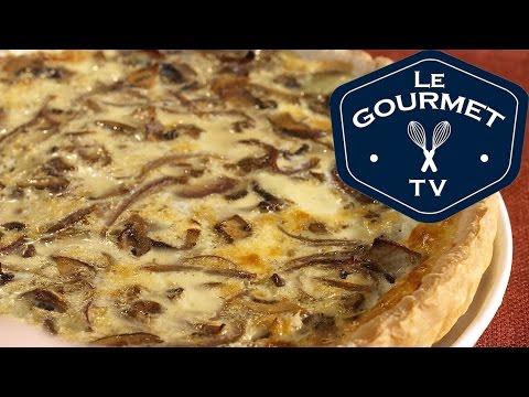 Mixed Mushroom Quiche Recipe LeGourmetTV