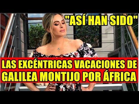 ASÍ HAN SIDO LAS EXCÉNTRICAS VACACIONES DE GALILEA MONTIJO POR ÁFRICA