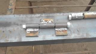 видео ремонт бортов на полуприцепах