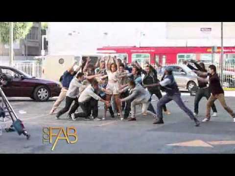 Jennifer Lopez   shooting Papi music video