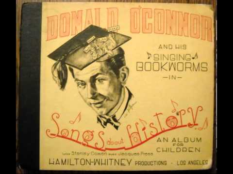 Donald O'Connor's Songs About History ~ Ferdinand Magellan