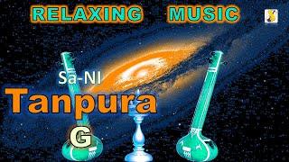 Relaxing Music   Meditation   Tanpura G Scale (Fifth White)   Sa-Ni Samwad   Indian Classical Music
