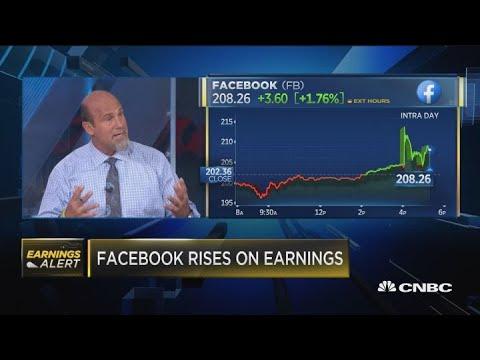 Facebook Rises On Earnings