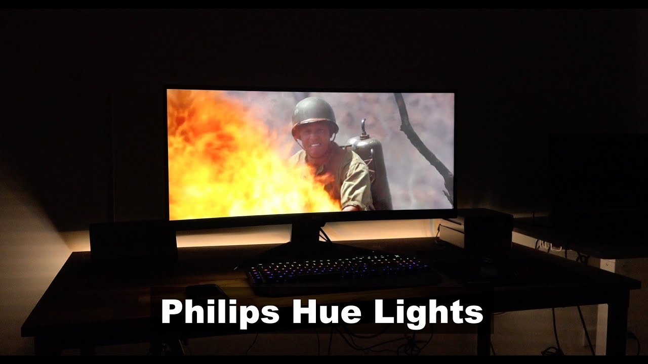 Sync Philips Hue Lights with Movies and Music - Setup & Demo