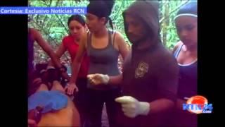 Exclusivo Noticias RCN: Video muestra improvisada cirugía a miembro de las FARC en medio de la selva