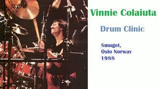 Vinnie Colaiuta Drum Clinic (Oslo 1988)