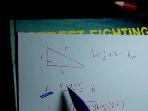 Rumus Cepat Luas Segitiga SMP SMA matematika - YouTube