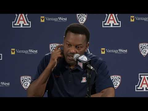 Arizona Football Press Conference