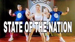 Download lagu STATE OF THE NATION l RETRO DANCE l Dj arkie remix l danceworkout