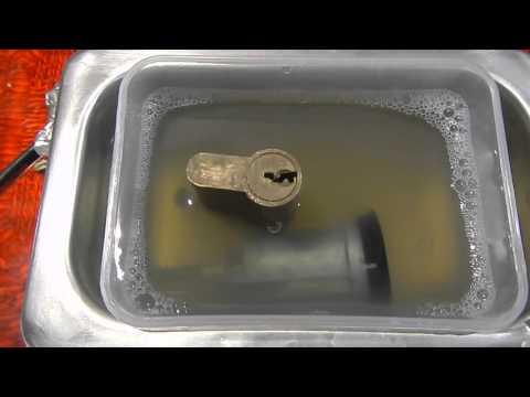 Ультразвуковая ванна 80 ватт тест на замках