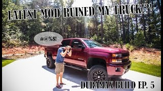 """4.5"""" BDS LIFT AND 35S (DURAMAX BUILD EPS. 5)"""
