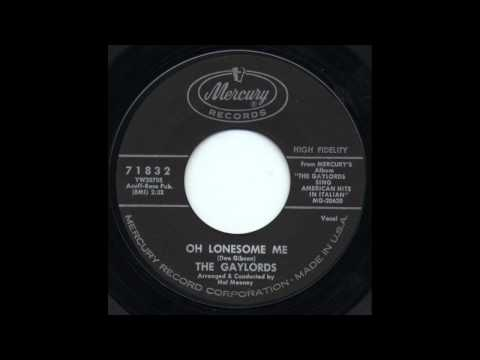 The Gaylords - Oh Lonesome Me (In Italian)