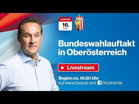 """Komplettaufzeichnung: """"Fairness-Tour"""" Bundeswahlauftakt 2017 in Wels"""