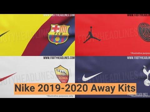 c20827f20 LEAKED  Nike 2019-2020 Away Kits Info - Barcelona