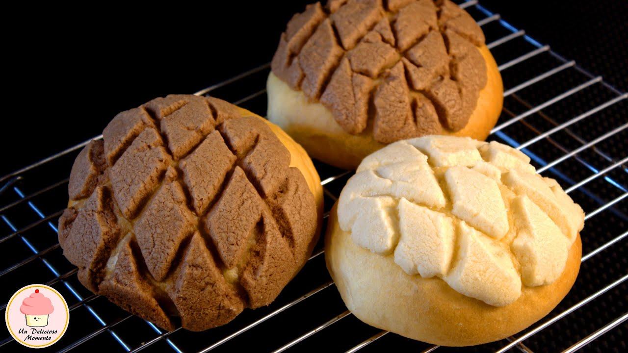 Como hacer conchas paso a paso how to make sweet buns - Como hacer conchas finas ...