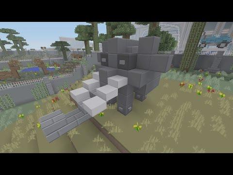 SPANKLECHANK'S Minecraft Tutorials: How To Make An Elephant