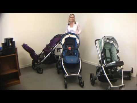 Baby Jogger City Select Silver Frame Stroller Review Youtube