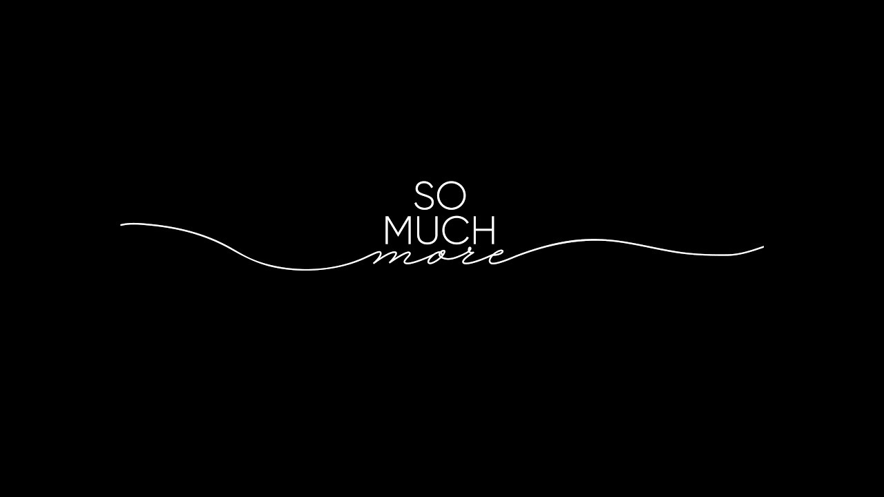 So Much More Teaser TRAILER