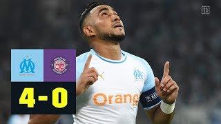 Dimitri Payet führt Marseille zu Sieg: Olympique Marseille - Toulouse 4:0 |Highlights| Ligue 1| DAZN
