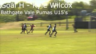 Jamie Skinner Goal of the Month (May) – Goal H, Kyle Wilcox