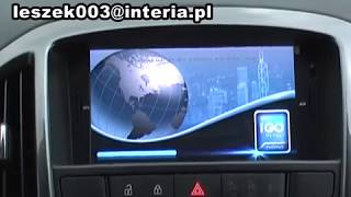 Astra J Radio DVD - model 2012
