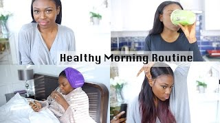 MY HEALTHY WINTER MORNING ROUTINE