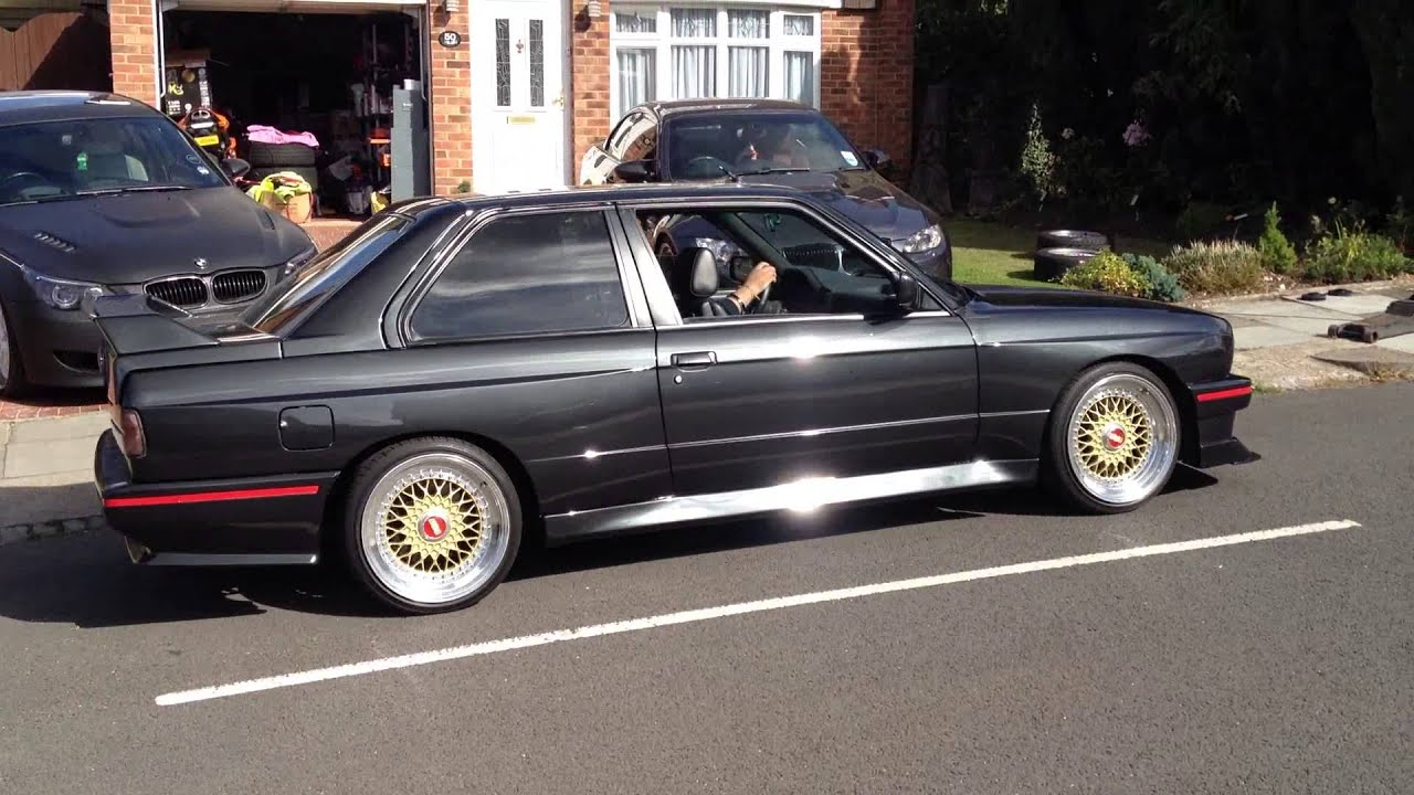 Bmw E30 M3 Bbs Rs Rolling Show Car Youtube