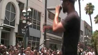 Common Live @ 3rd St. Promenade: Aquarius/The Game