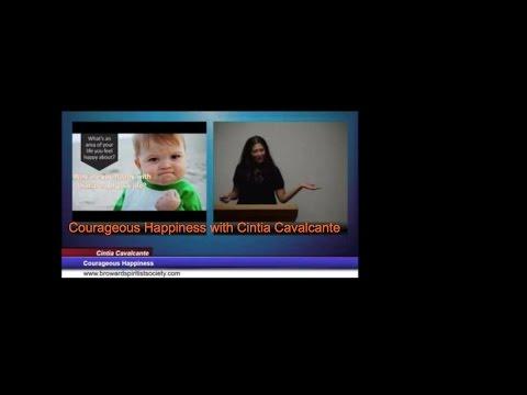 Courageous Happiness, speaker Cintia Cavalcante (Talk: Spiritism)