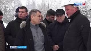 Нургалиев проверил строительство ФОКа в Медвежьегорске