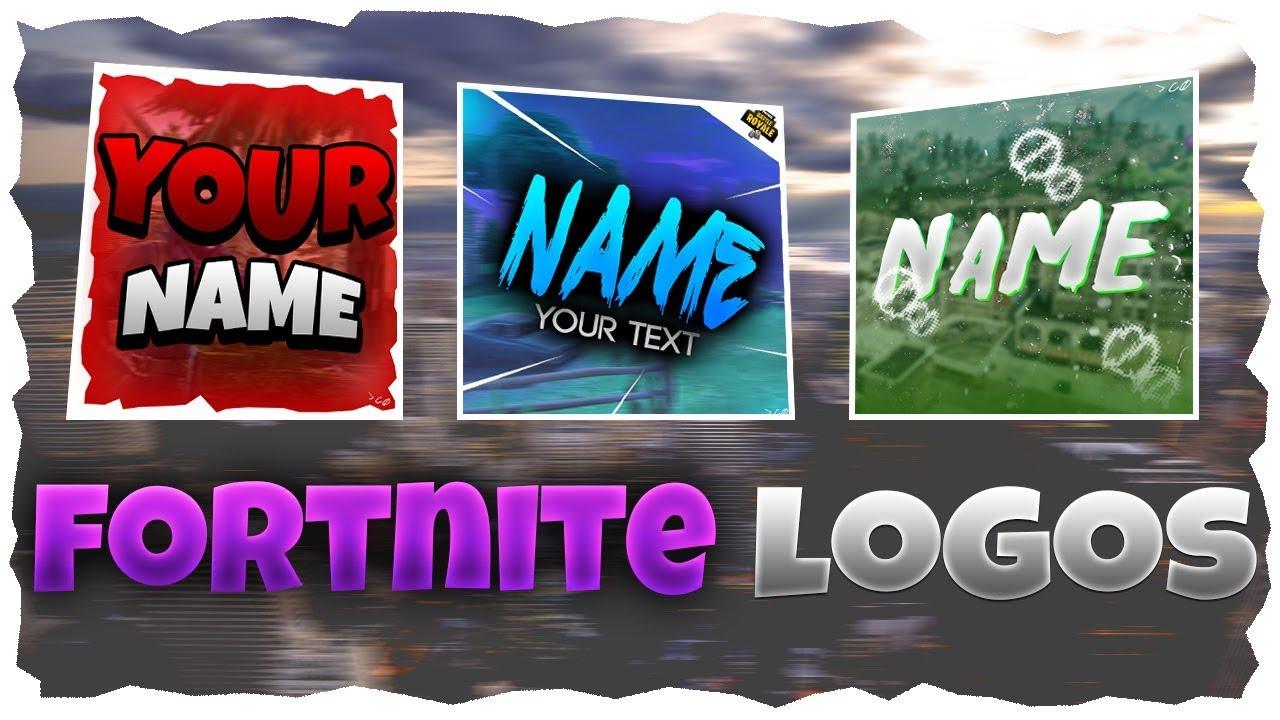 Free Fortnite Logo Templates