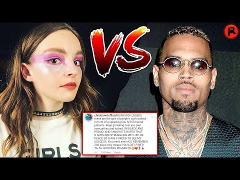 Chris Brown Attacks  CHVRCHES After Marshmello Collab Mp3