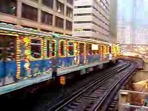 cta holiday train - Christmas Train Chicago