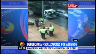 Lima: Denuncian a fiscalizadores por abusivos