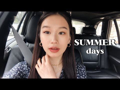 A SUMMER VLOG | Part Time Job, Friends, How I've Been Feeling