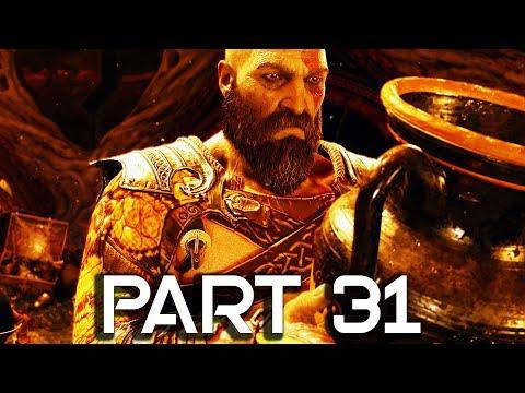 God of War 4 Walkthrough Part 31 - Treasure Room - GOD OF WAR GAMEPLAY!! (PS4 PRO 60FPS)