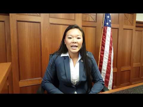 Mariko Willis, law student and Marine Corps Staff Sergeant