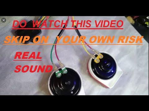 Magic Horn / 22 sound Horn 12vDC