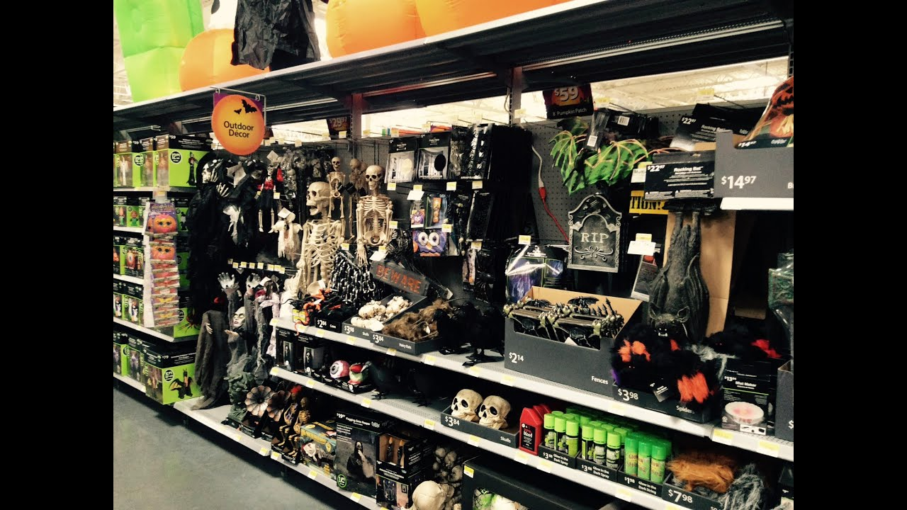 walmart halloween 2015 youtube - Walmart Halloween Decorations